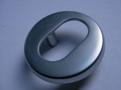 Trioving 5968 6 mm satin chrome external escutcheon