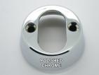 TV53CRI internal cylinder rose polished chrome