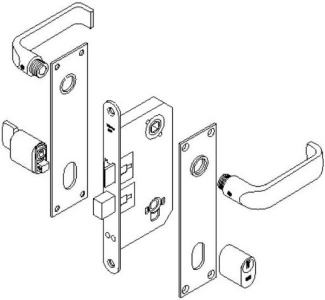 trioving 5312 lockset