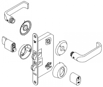 trioving 5382 lockset