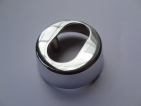 Trioving 5968 15 mm polished chrome external escutcheon
